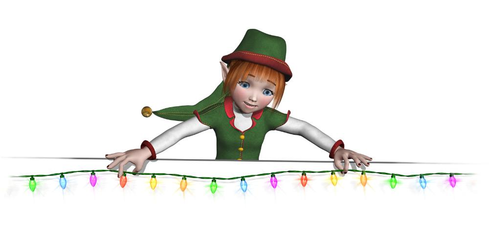 www.hamiltonhousepainters.ca - Christmas lighting elf